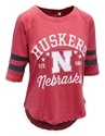 Womens Huskers Star Jersey Raglan Nebraska Cornhuskers, Nebraska  Ladies, Huskers  Ladies, Nebraska  Short Sleeve, Huskers  Short Sleeve, Nebraska  Ladies T-Shirts, Huskers  Ladies T-Shirts, Nebraska  Ladies Tops, Huskers  Ladies Tops, Nebraska Womens Huskers Star Jersey Raglan, Huskers Womens Huskers Star Jersey Raglan