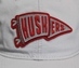 Womens Silver Huskers Pennant Hat - HT-D7065