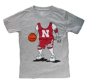 Young Fellas Husker Basketball Player Tee Nebraska Cornhuskers, Nebraska  Childrens, Huskers  Childrens, Nebraska  Kids, Huskers  Kids, Nebraska Basketball, Huskers Basketball, Nebraska Young Fellas Husker Basketball Player Tee, Huskers Young Fellas Husker Basketball Player Tee