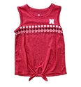 Youth Girls Nebraska Roxy Tank Nebraska Cornhuskers, Nebraska  Youth, Huskers  Youth, Nebraska  Kids, Huskers  Kids, Nebraska Youth Girls Nebraska Roxy Tank, Huskers Youth Girls Nebraska Roxy Tank