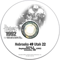 1992 Utah Husker football, Nebraska cornhuskers merchandise, husker merchandise, nebraska merchandise, nebraska cornhuskers dvd, husker dvd, nebraska football dvd, nebraska cornhuskers videos, husker videos, nebraska football videos, husker game dvd, husker bowl game dvd, husker dvd subscription, nebraska cornhusker dvd subscription, husker football season on dvd, nebraska cornhuskers dvd box sets, husker dvd box sets, Nebraska Cornhuskers, 1992 Utah