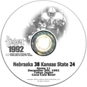 1992 Kansas State Husker football, Nebraska cornhuskers merchandise, husker merchandise, nebraska merchandise, nebraska cornhuskers dvd, husker dvd, nebraska football dvd, nebraska cornhuskers videos, husker videos, nebraska football videos, husker game dvd, husker bowl game dvd, husker dvd subscription, nebraska cornhusker dvd subscription, husker football season on dvd, nebraska cornhuskers dvd box sets, husker dvd box sets, Nebraska Cornhuskers, 1992 Kansas State