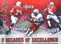 Three Decades of Excellence Heisman Winners Autographed Print Nebraska Cornhuskers, husker football, nebraska cornhuskers merchandise, husker merchandise, nebraska merchandise, husker memorabilia, husker autographed, nebraska cornhuskers autographed, nebraska cornhuskers memorabilia, nebraska cornhuskers collectible, 3 Decades of Excellence Litho  18 x 24